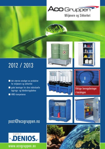 3e735940 Denios Miljøsikring 2012-2013 by Aquatiq AS - issuu