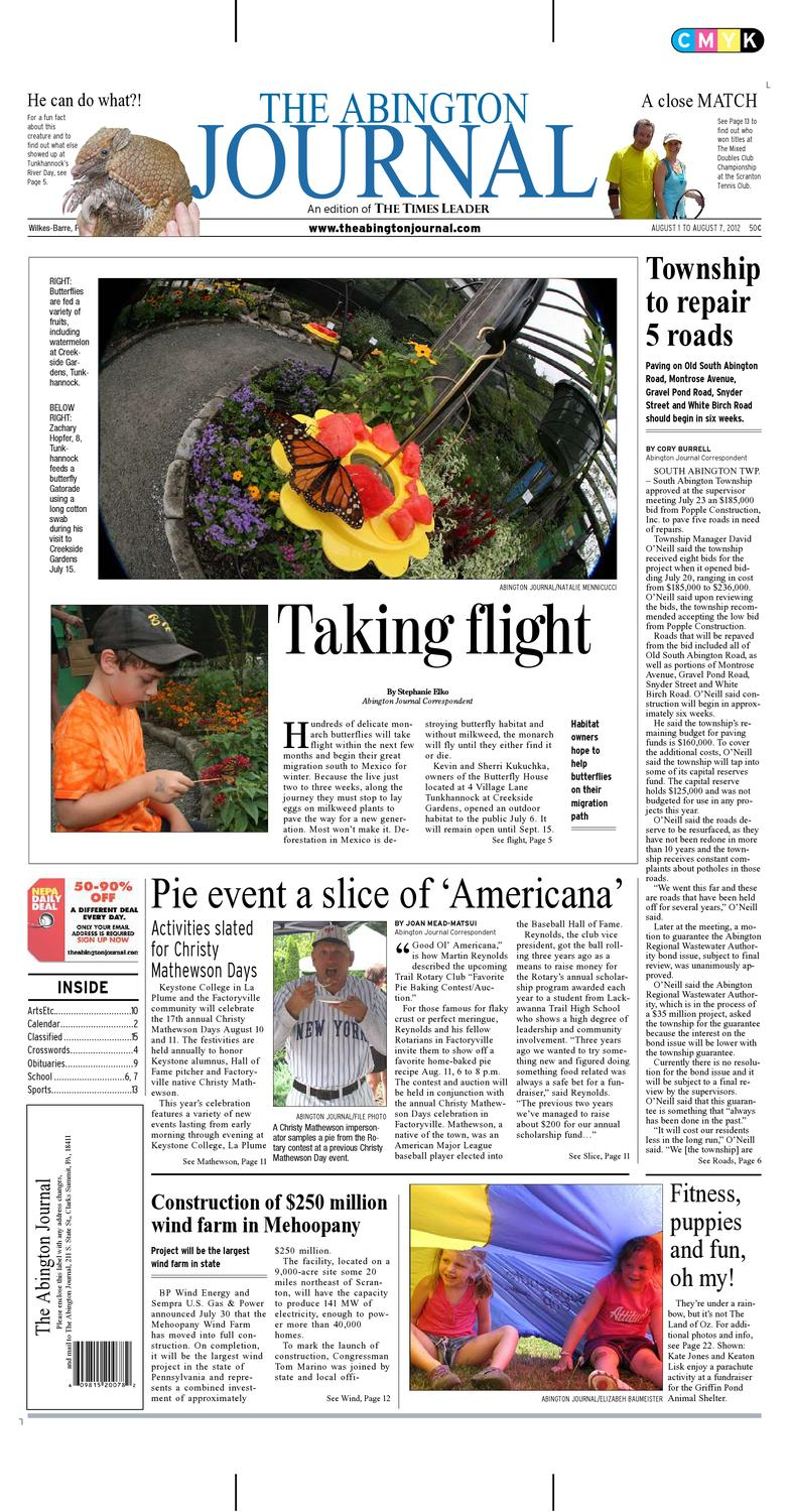 The Abington Journal 08 01 2012 By The Wilkes Barre Publishing Company Issuu