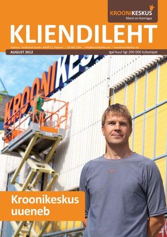 3b5b59dee8b Kliendileht august 2012 by Kroonikeskus - issuu