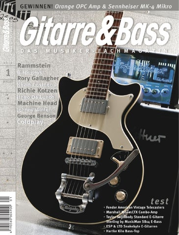 Gitarre&Bass 01/2012 by MM-Musik-Media-Verlag GmbH & Co.KG - issuu