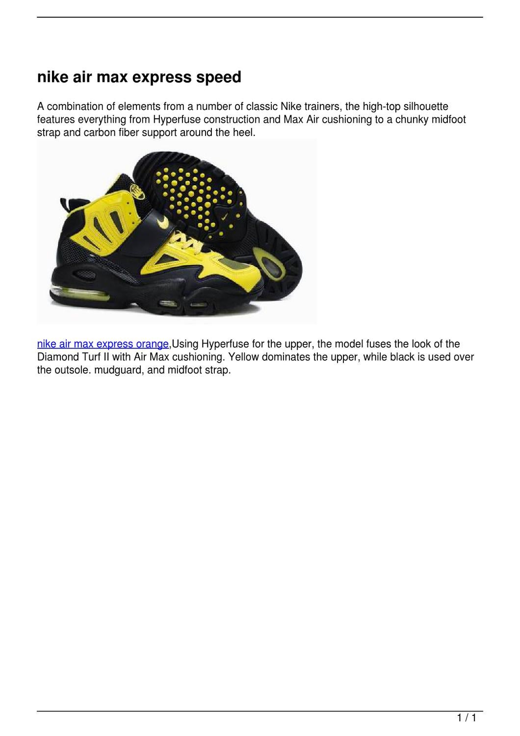 outlet store f846b 09f79 nike air max express speed by mu mao - issuu
