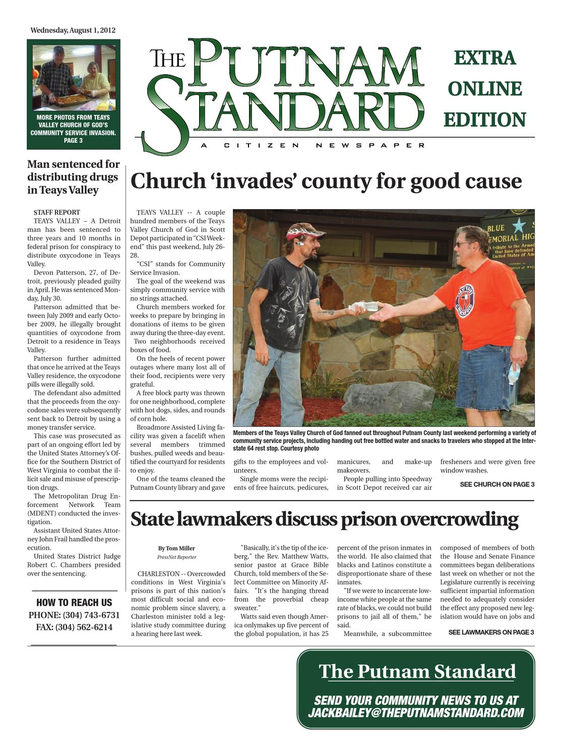 The Putnam Standard by PC Newspapers - issuu