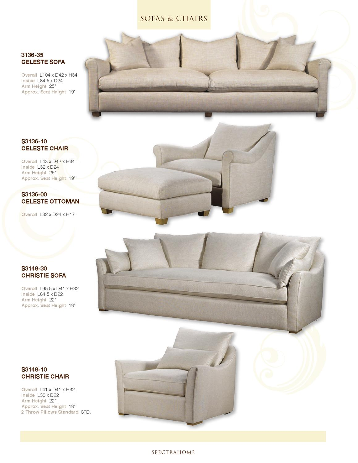 Sofa Seat Height Sofa Seat Heightfabulous Oliver Chaise Sofa Too Big Though Total