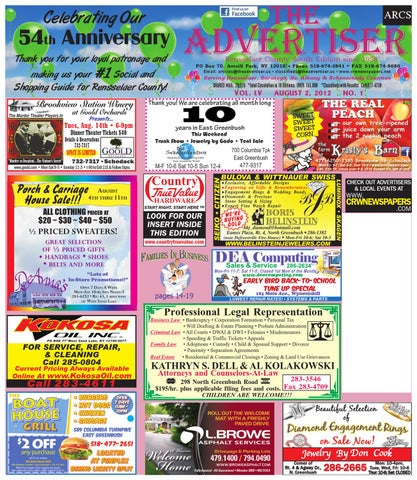 Advertiser south 080212 by capital region weekly newspapers issuu page 1 fandeluxe Images
