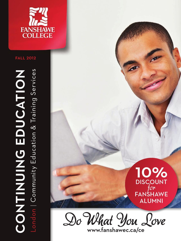 Fanshawe College Continuing Education Fall 2012 By Fanshawe