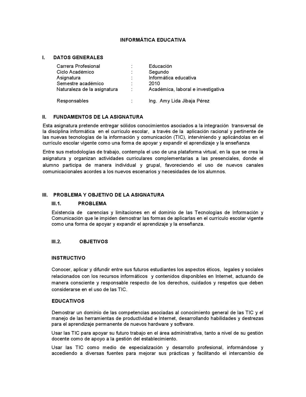 Informática Educativa by Hilder Lino Roque - issuu