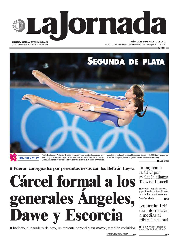 La Jornada, 08/01/2012 by La Jornada: DEMOS Desarrollo de Medios SA ...