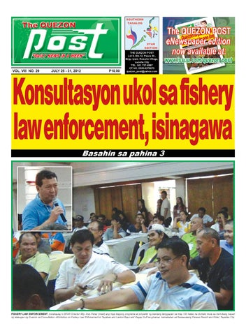 July 25 2012 The Quezon Post by Jaime Malaluan - issuu