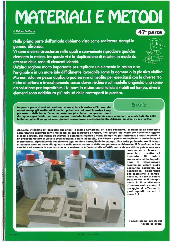 Guida agli stampi in gomma siliconica by prochima issuu for Gomma siliconica per calchi