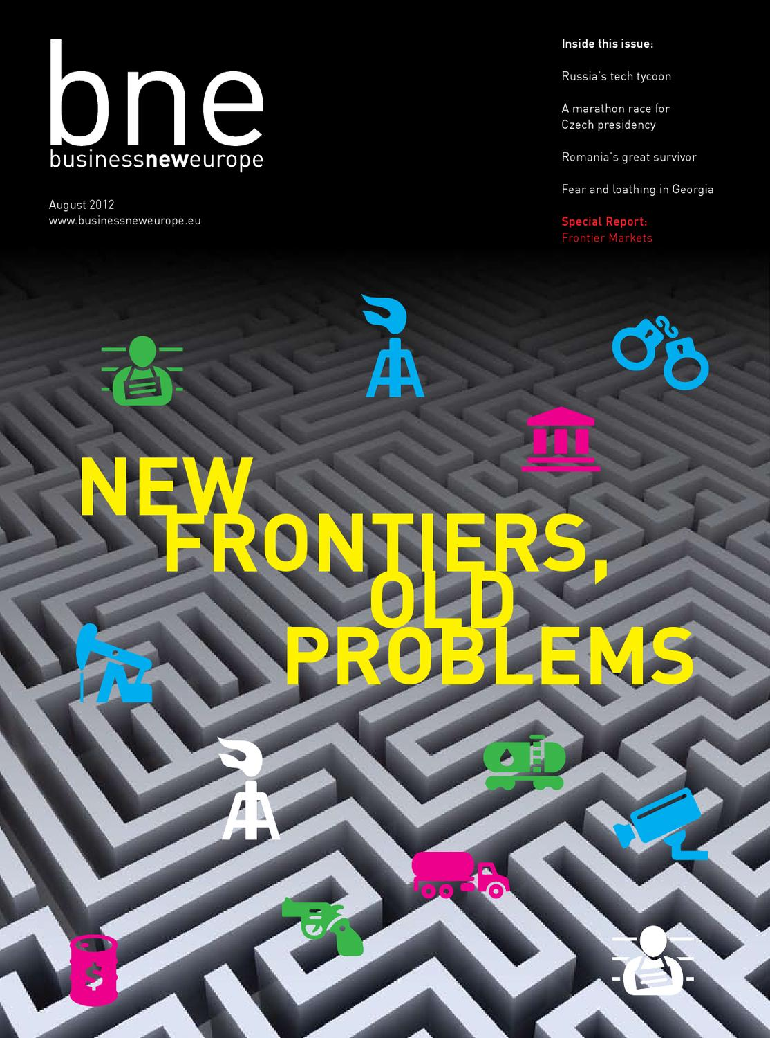 Business New Europe magazine August 2012 by Ben Aris - issuu