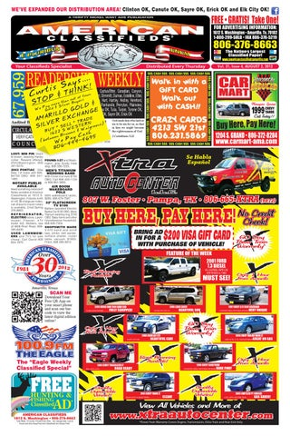 American Classifieds Amarillo TX August 2 2012 By