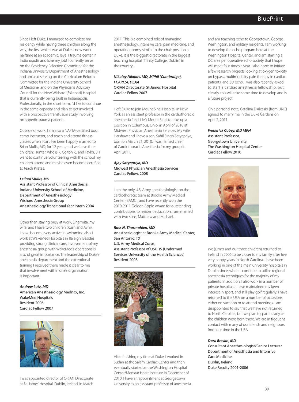 2011 BluePrint by Duke Anesthesiology - issuu