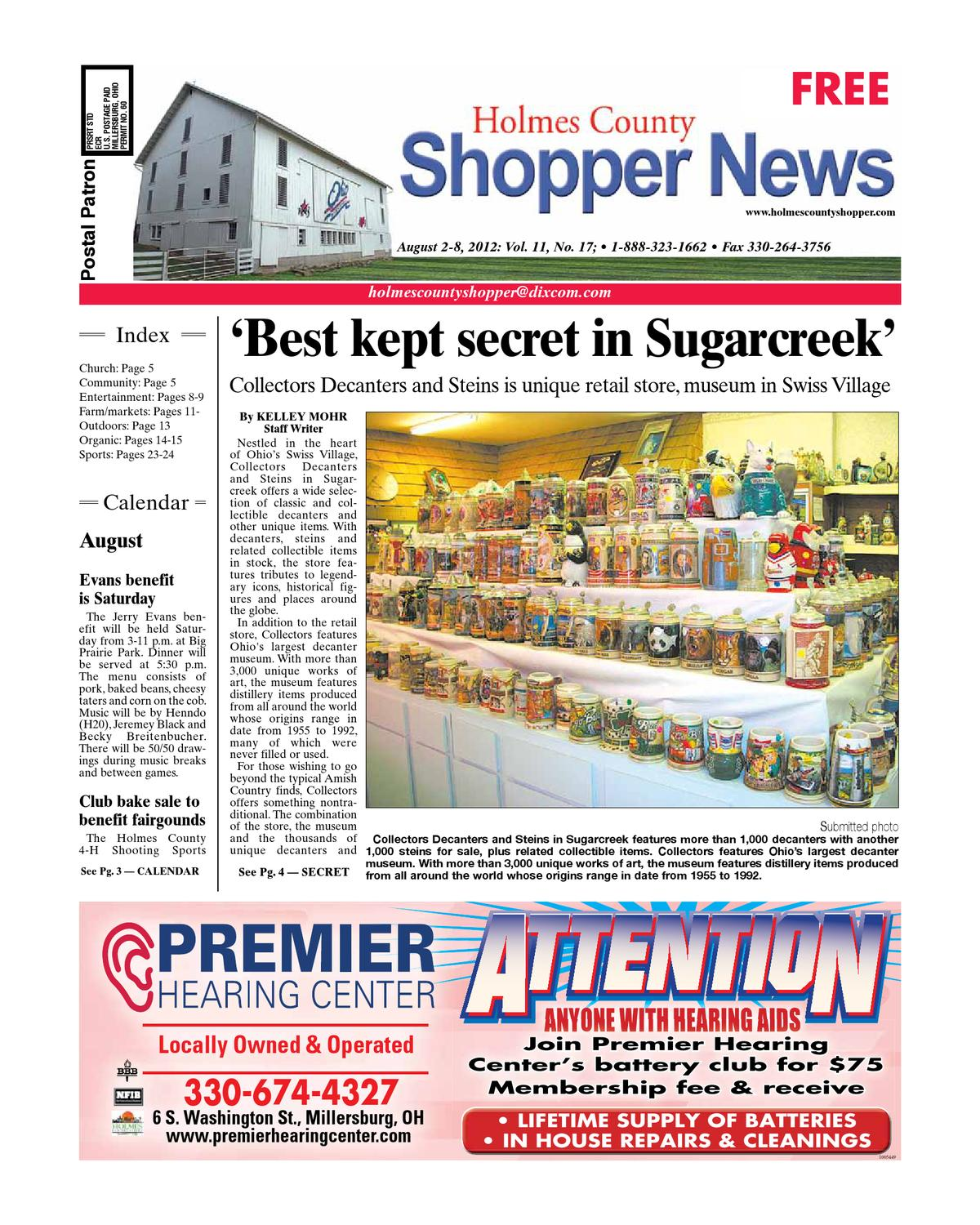 Holmes County Shopper, Aug  2, 2012 by GateHouse Media NEO