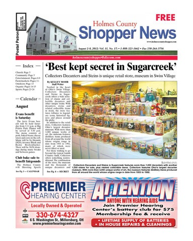 Holmes county shopper aug 2 2012 by gatehouse media neo issuu page 1 fandeluxe Images