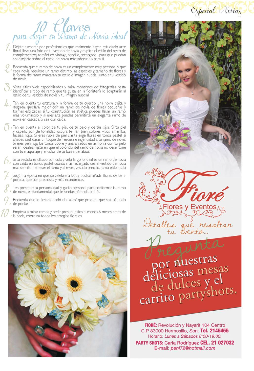 Especial Novias By Sonset Issuu