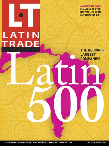 Latin Trade (English Edition) - Jul/Aug 2011 by Latin Trade