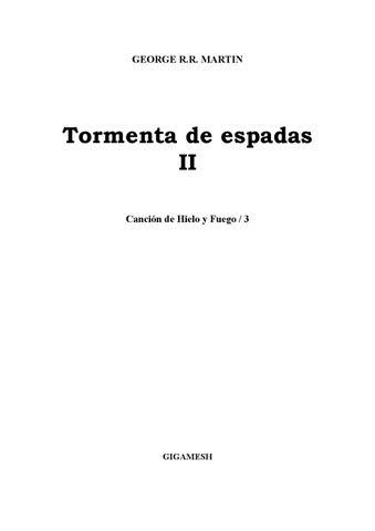 Cancion de Hielo y Fuego by sofia velastegui - issuu