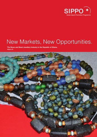 Bead Brass And Jewellery Industry In Ghana By Switzerland Global Enterprise Issuu