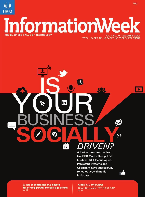 Information Week August 2012 Issue By Viraj Mehta Issuu