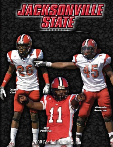 2009 JSU Football Media Guide by Jacksonville State Athletics - issuu 59c05510a
