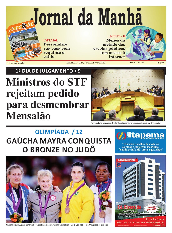 a6d5c30d1 Jornal da Manhã 03.08.2012 by Classificados Jornal da Manhã - issuu