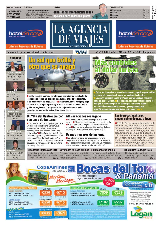 La Agencia de Viajes Argentina N° 1.218 by La Agencia de Viajes ...