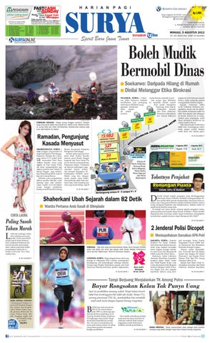 E-paper Surya Edisi 05 Agustus 2012