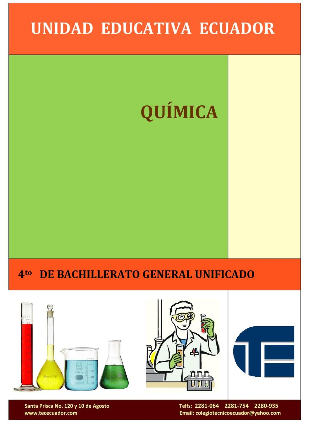 Quimica 4 by marco vsquez issuu urtaz Images