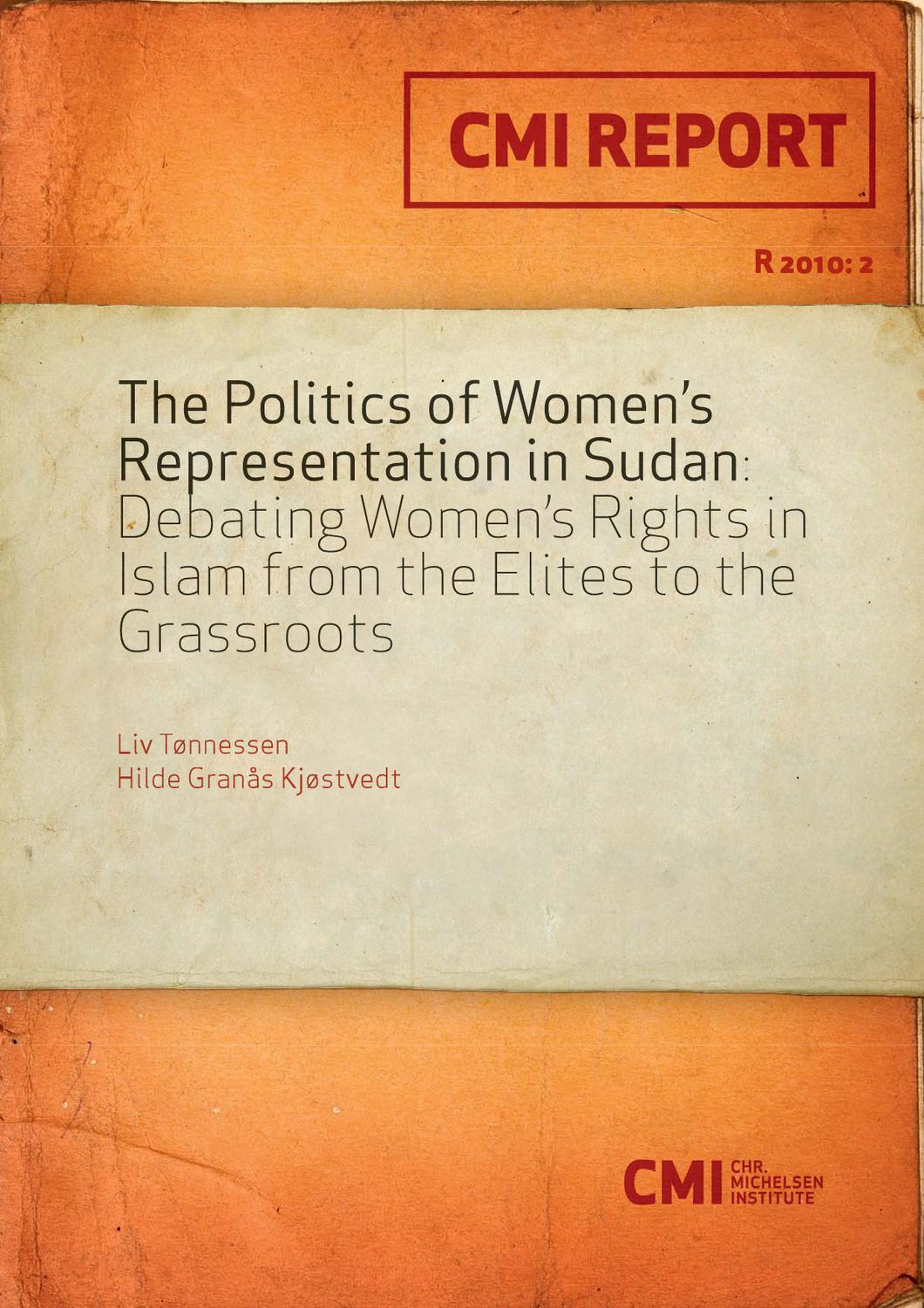 Amber Boddy Whipping the politics of women's representation in sudan: debating
