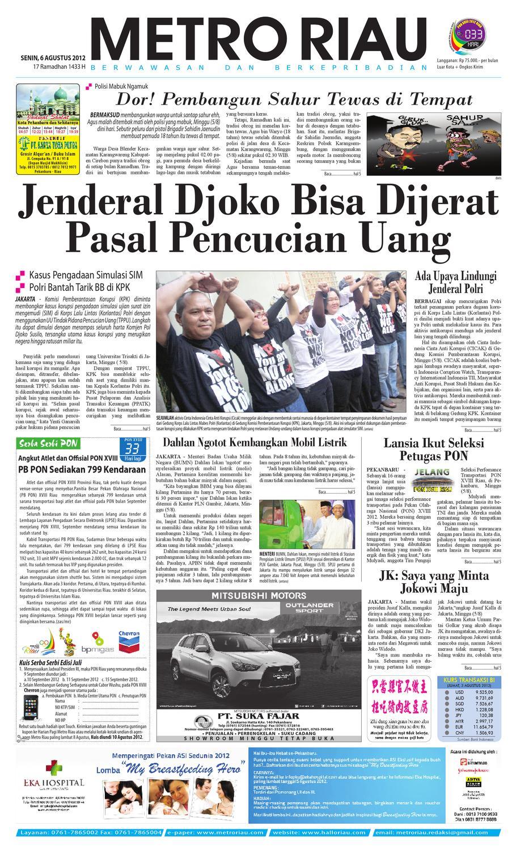 06082012 Metroriau By Harian Pagi Metro Riau Issuu Produk Ukm Bumn Pusaka Coffee 15 Pcs Kopi Herbal Nusantara Free Ongkir Depok Ampamp Jakarta