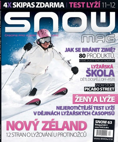 SNOW 63 - listopad 2011 by SNOW CZ s.r.o. - issuu a6ffadae0f