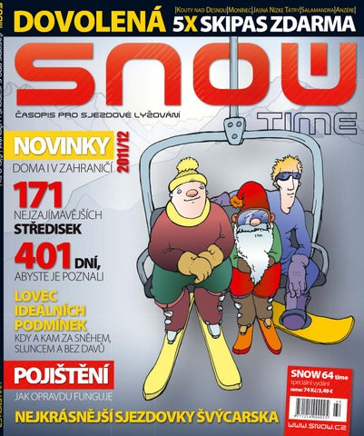 SNOW 64 Time - speciál o zimní dovolené - listopad 2011 cdf7960aad