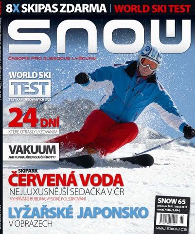 SNOW 65 - prosinec 2011   leden 2012 by SNOW CZ s.r.o. - issuu 12297abd75