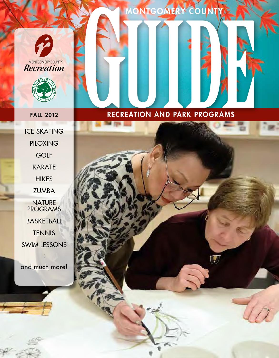 competitive price d721b 3d1e5 Fall 2012 Guide by Montgomery County Recreation Dept. - issuu