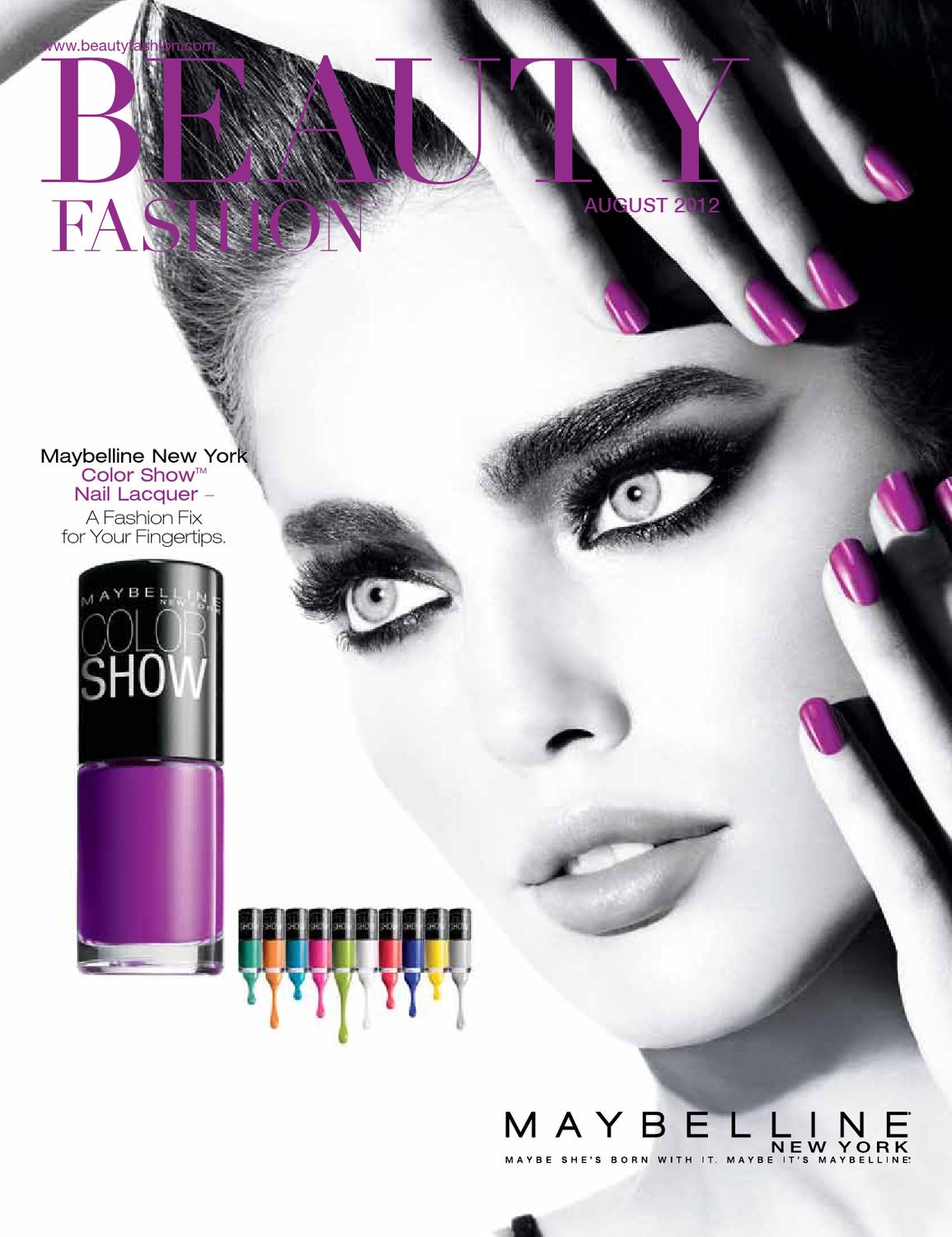 d0fcf91bba0 Beauty Fashion August 2012 by Beauty Fashion Inc. - issuu