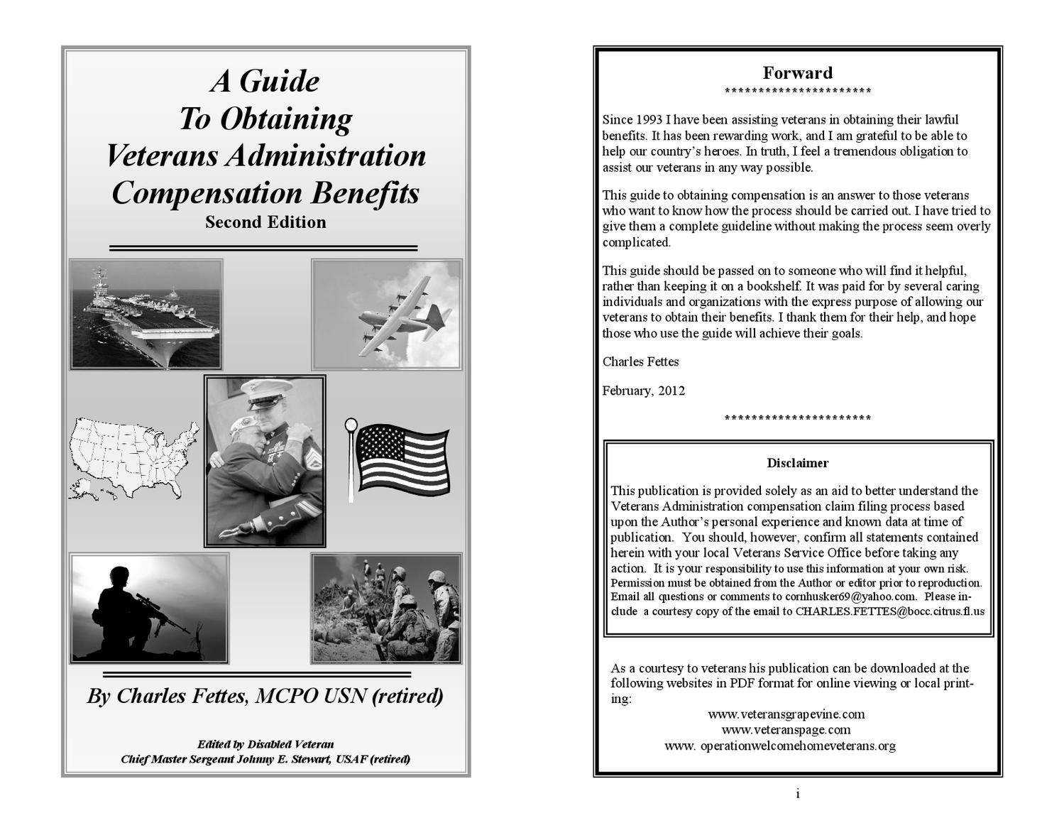 Guide to Obtaining Veterans Administration Compensation Benefits ...