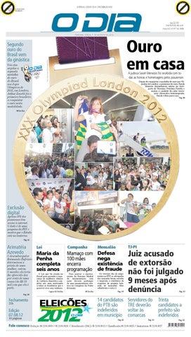 f37f0d4cf1 JORNAL O DIA by Jornal O Dia - issuu