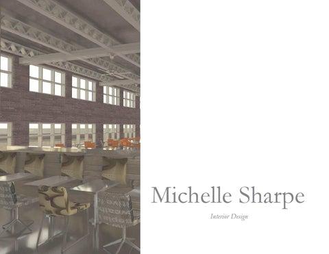 Michelle Sharpe Graduate School Interior Design Portfolio