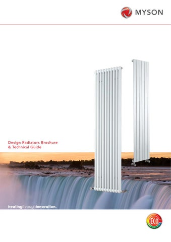 Myson design radiators brochure and technical guide by for Myson decor