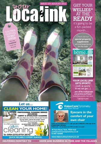 dfe62f2f6 Your Local Link Magazine August 2012 by Your Local Link Ltd - issuu