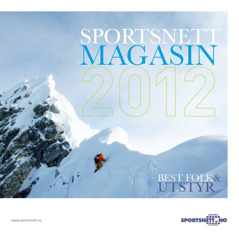 a43bc103 Sportsnett Magasin 2012 by INK DESIGN - issuu