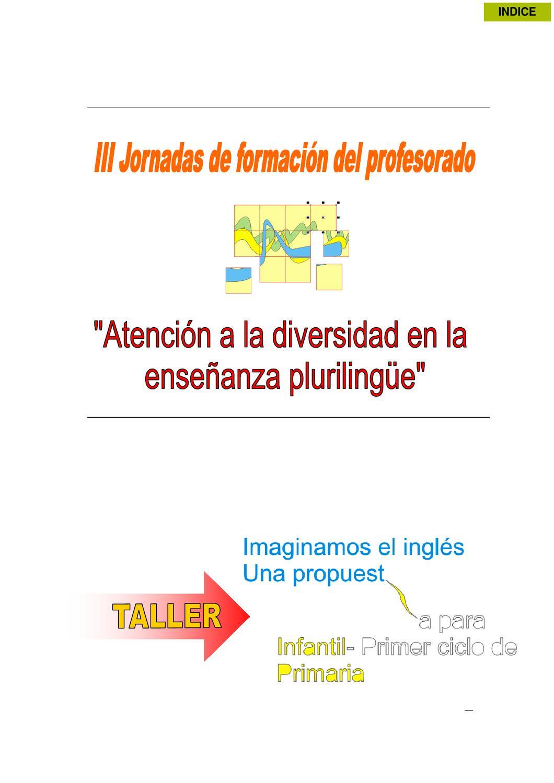Actas III Jornadas Atención a la Diversidad - A. Bueno by GRETA ...