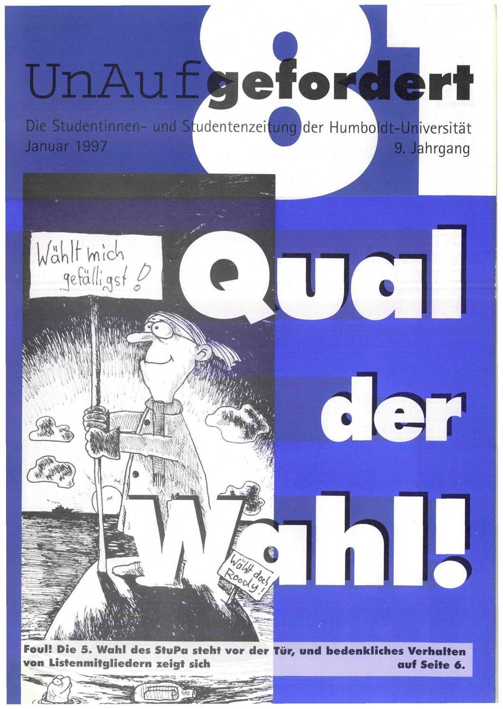 UnAufgefordert Nr. 81 by Freundeskreis der UnAufgefordert e. V. - issuu