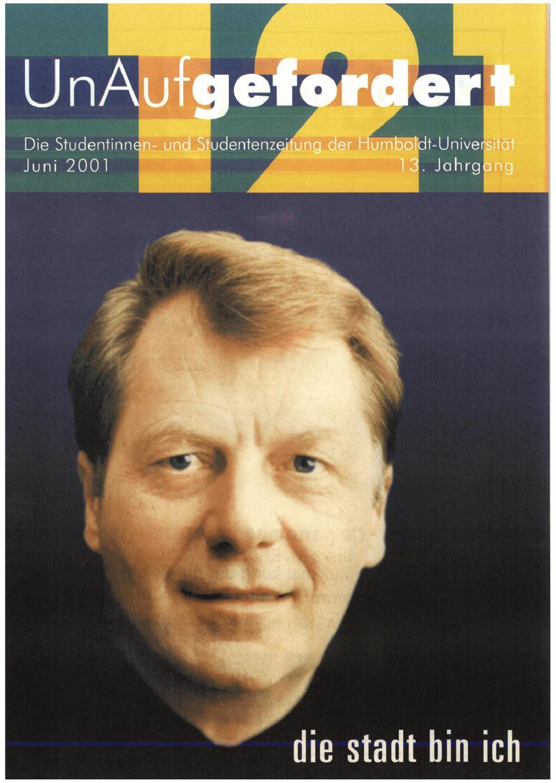 UnAufgefordert Nr. 121 by Freundeskreis der UnAufgefordert e. V. - issuu