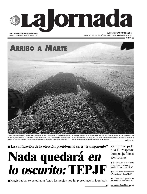 La Jornada, 08/07/2012 by La Jornada - issuu