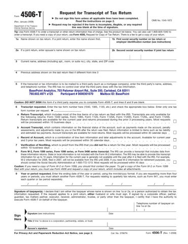 4506 t form for business  12-T by The Moore Team - issuu