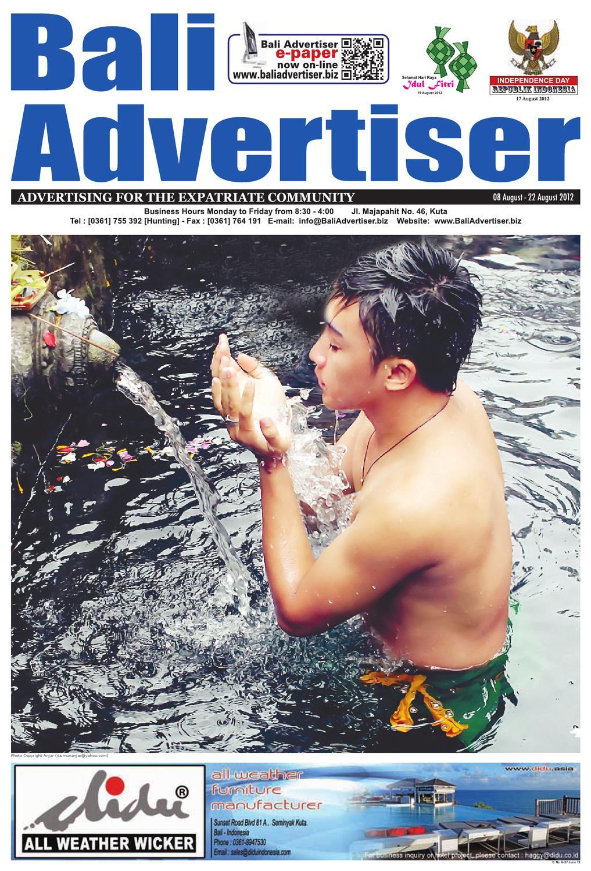 Ba 08 August 2012 By Bali Advertiser Issuu Prime Genset Pr1200cl 850watt