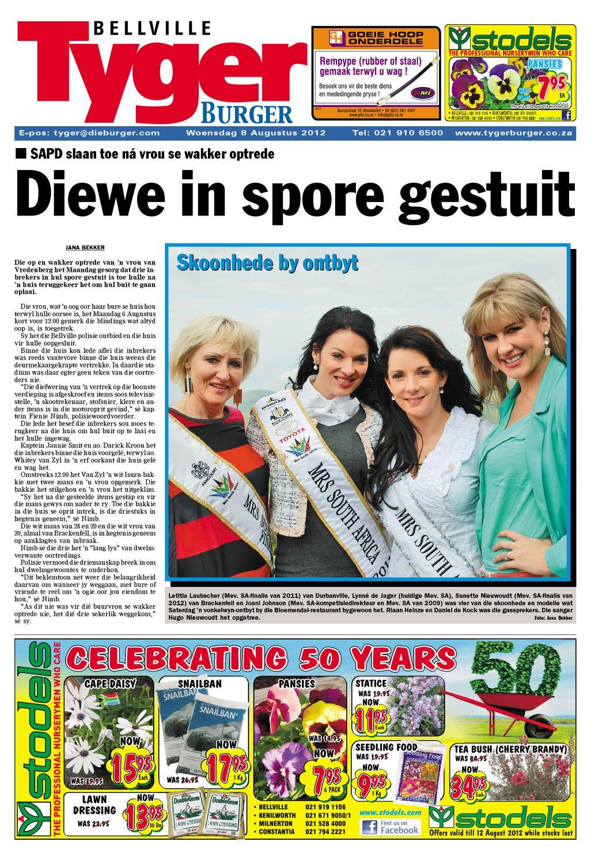Tygerburger Bellville 8 Aug 2012 by Tygerburger Newspaper - issuu