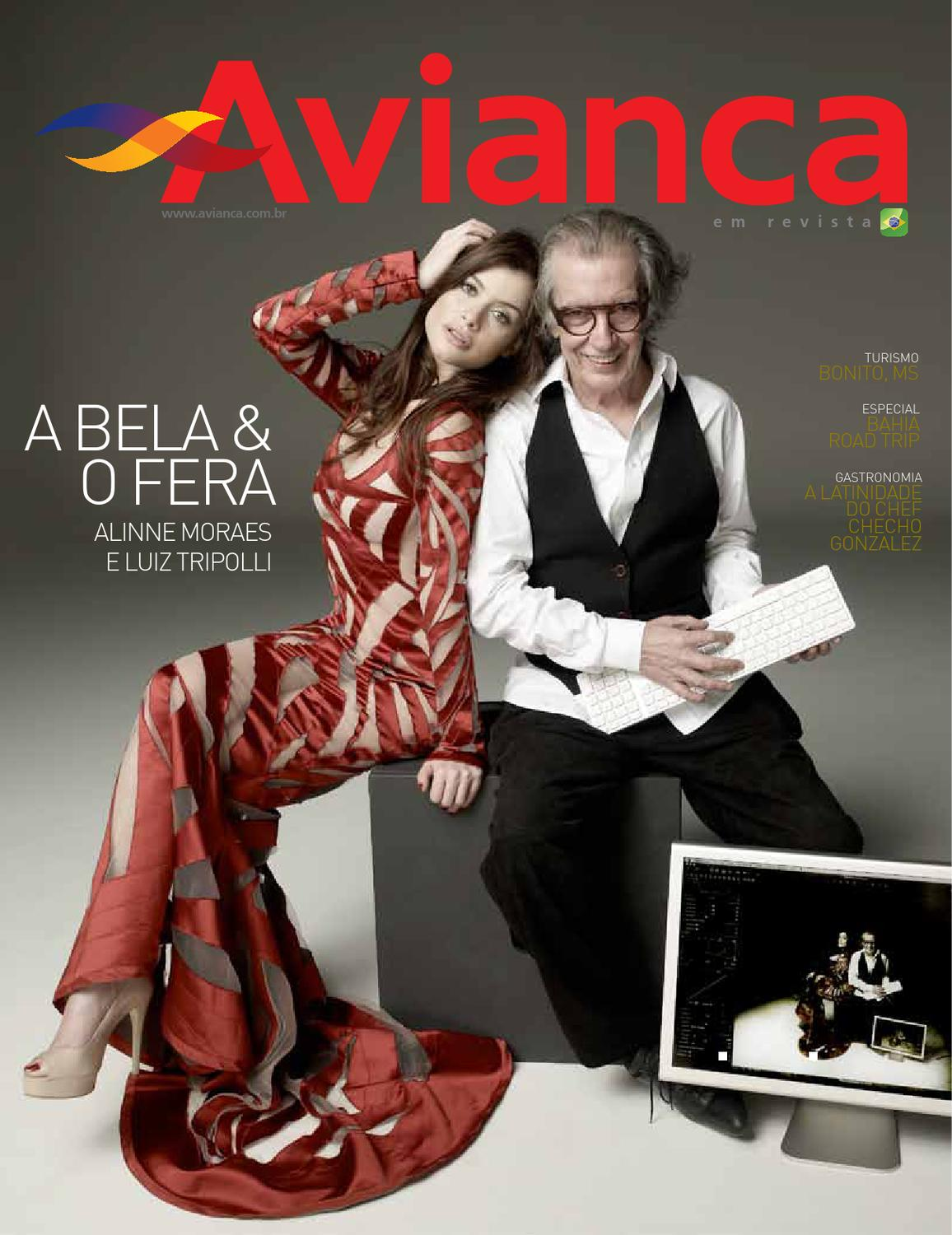 27 - Alinne Moraes Luiz Tripolli by Avianca em Revista - issuu 42be725949