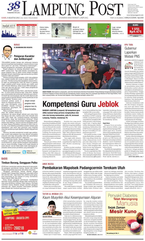 Lampungpost Edisi 9 Agustus 2012 By Lampung Post Issuu Kopi Bubuk Hitam Kapal Api Tanpa Gula 10x6 5 Gram